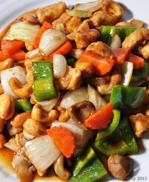Chicken-cashews